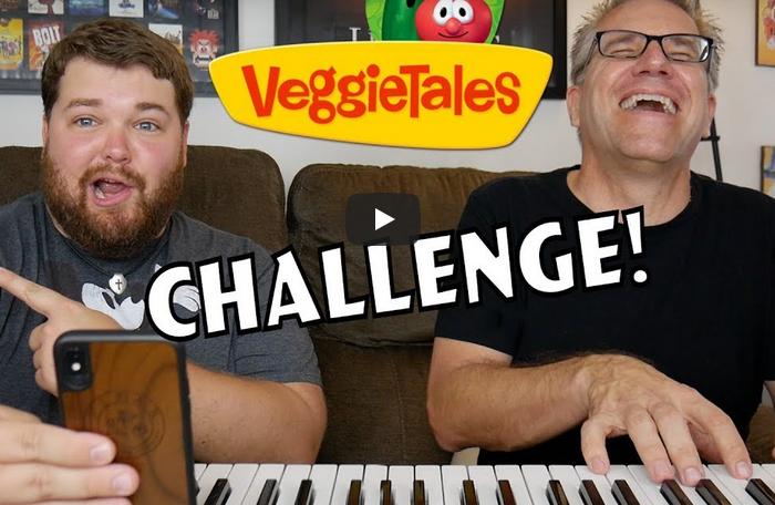 Disney Characters Singing VeggieTales Songs